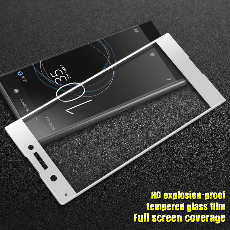 GXE For Sony Xperia XA1 3D Full Screen Coverage Tempered Glass For Sony Xperia XA1 Screen Protector Full Covered Protective Film 4