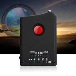 1 MHz 6.5 GHz wielofunkcyjny wykrywalne RF/detektor soczewek pełny zakres bezprzewodowa kamera GPS Spy błędów sygnał RF wyszukiwarka urządzeń GSM w Wykrywacze ukrytych kamer od Bezpieczeństwo i ochrona na