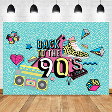 90er Hintergrund Graffiti Retro Radio Fotografie Kulissen Mode Schuhe Hip Hop 90th Themed Party Banner Fotografie Hintergrund