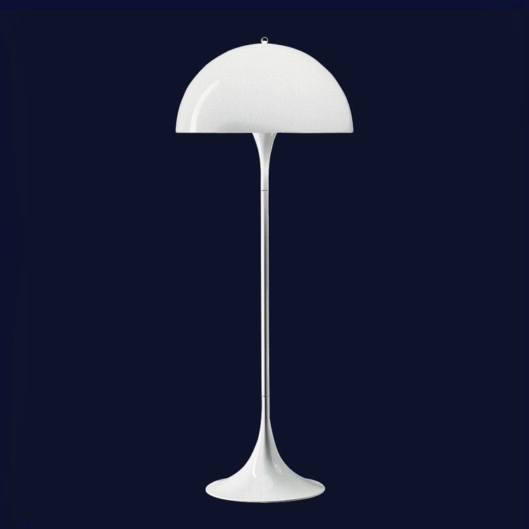 Panthella Floor Lamp By Verner Panton from Louis Poulsen D50*H130CM E27 bulb 110-240V free shipping hot selling verner panton design 3 circle diy shell pendant lamp