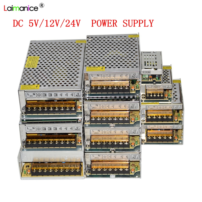 AC 110V-220V TO DC 5V 12V 24V 1A 2A 3A 5A 10A 15A 20A 30A 50A Switch Power Supply Driver Adapter LED Strip Light 24v power supply led driver switch transformer 110v 220v ac to dc24v adapter for strip lamp cnc cctv 1a 2a 3a 5a 6 5a 10a 15a