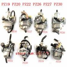 PZ19 PZ20 PZ22 PZ26 PZ27 PZ30 Carb ручной кабель Chock карбюратор для 50cc-250CC Dirt Pit bike ATV Quad Go kart SUNL TAOTAO