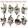 Карбюратор для мотоцикла PZ19 PZ20 PZ22 PZ26 PZ27 PZ30, карбюратор с ручным кабелем для мотоцикла внедорожника 50-250 куб. См ATV Quad Go kart SUNL TAOTAO