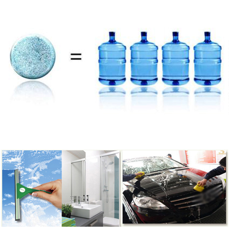 1/2/6PCS Car Window Cleaner Concentrated Super Auto Glass Cleaning Add to water