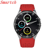 Smartch KW88 Clock Smart Watch Android 5.1 OS 2.0 MP Camera Smartwatch Support SIM 3G Network GPS WIFI Google Play/Map/Voice