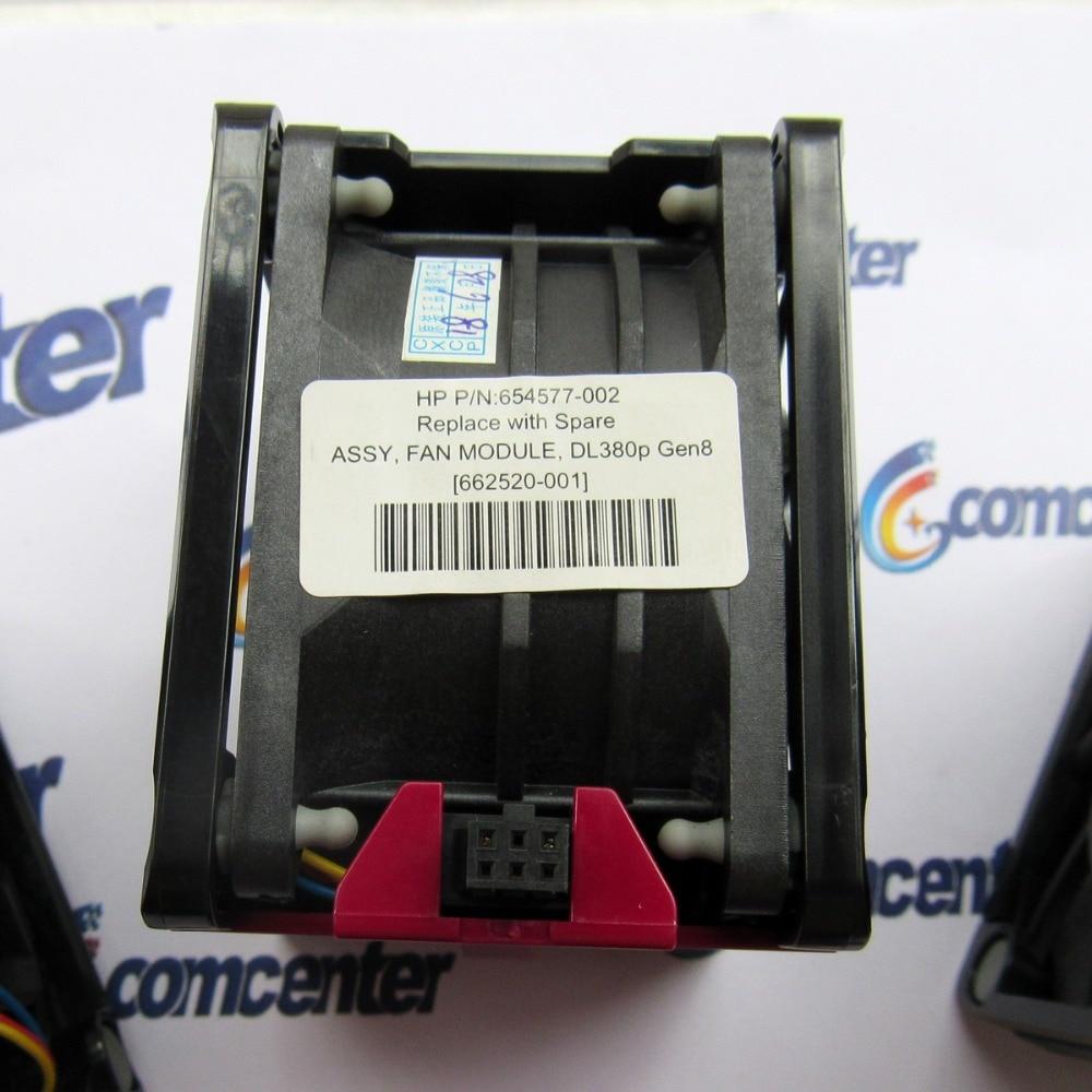 LOT OF 2 HP DELTA 654577-002 662520-001 PFR0612XHE CF1U SERVER FAN FOR DL380