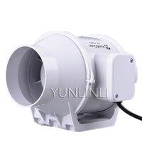 4 Inch Duct Fan Mini Fan Blower Waterproof Ventilation Pipe Exhaust Ceiling Bathroom Extractor Fan HF 100S