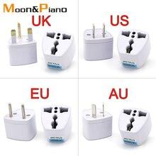 1PC Universal UK US AU EU AC Steckdose Stecker Reise Ladegerät Elektrische Adapter Konverter Japan China Amerika Italien schweiz
