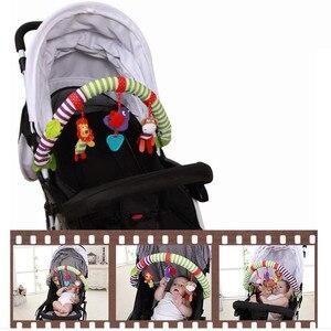 Image 4 - Océan forêt ciel bébé poussette voiture pince tour suspendu siège & poussette jouets enfant volant Animal jouet éducatif amovible 20% de réduction