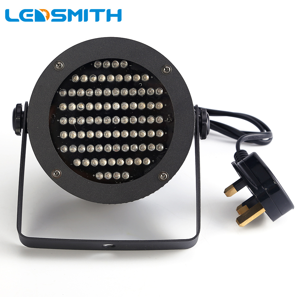 25W LED PAR Light DMX Lighting Laser Projector Stage Party Show Disco Stage Lighting Effect DJ Lamp Light KTV BARS Nightclubs 2pcs dj disco par led 54x3w stage light dmx strobe flat luces discoteca party lights laser rgbw luz de projector lumiere control