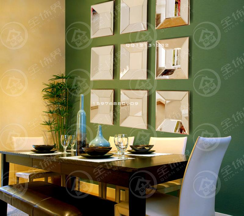 Square Mirror Wall Decor - Home Decorating Ideas