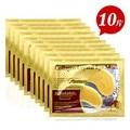 10 unids hot venta de oro ojo cristalina del colágeno máscara parches en los ojos cuidado de la piel 10 unids m01264 = 5 pack