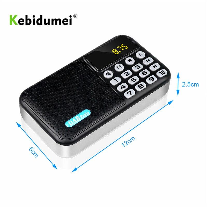 Fm Radio-player Receiver Mini Tragbare Bluetooth Lautsprecher Stereo Musik Fm Empfänger Als Geschenk Elegantes Und Robustes Paket Angemessen Kebidumei Digitale Dab Dab Tragbares Audio & Video