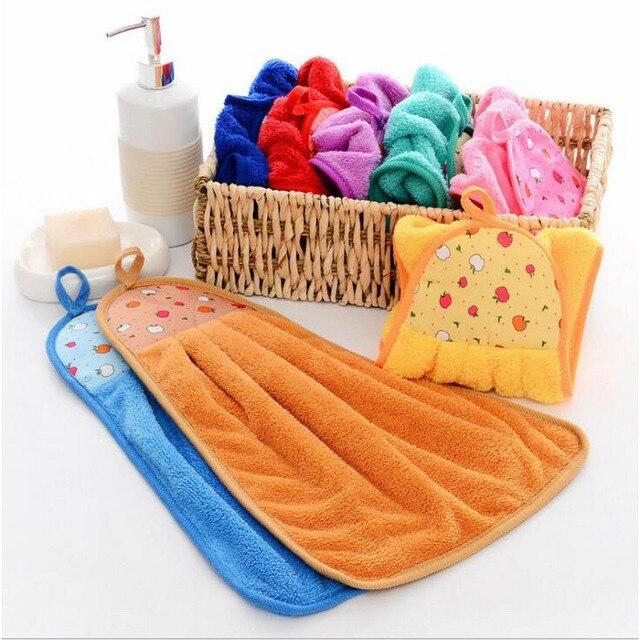 Hoomall Bagno Cucina Appendere Asciugamani Asciugamano di Colore della Caramella