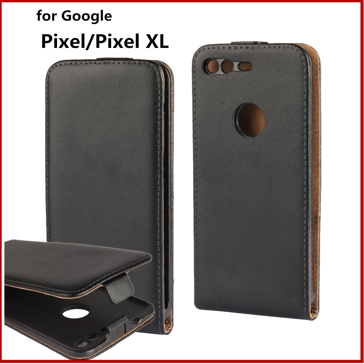 Clamshell Phone Case For Google Pixel Pixel XL Flip Case Magnetic Adsorption Buckle Case Simple Business Fundas