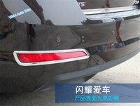 More Fun For Skoda Octavia MK3 A7 2015 2016 ABS Rear Tail Fog Light Lamp Cover