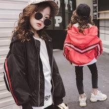 Girls spring and autumn jacket coat