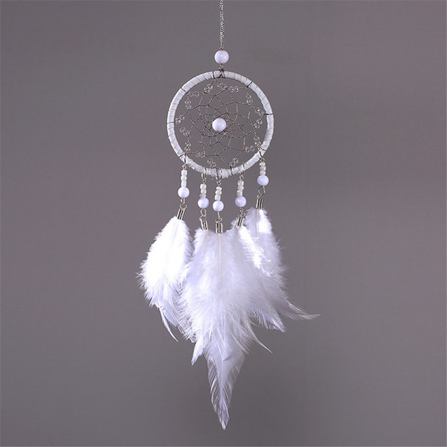 Handmade Wind Chime Dreamcatcher for Cars