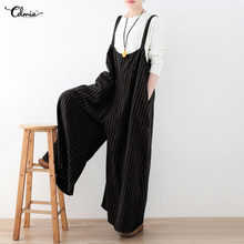 f108fcd5563 Plus Size Striped Jumpsuit-Koop Goedkope Plus Size Striped Jumpsuit ...
