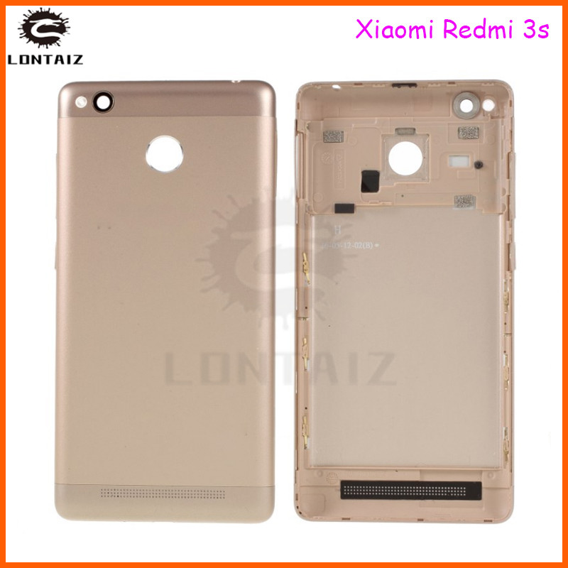 <font><b>redmi</b></font> <font><b>3s</b></font> back <font><b>cover</b></font> For Xiaomi <font><b>Redmi</b></font> <font><b>3S</b></font> <font><b>Battery</b></font> <font><b>Cover</b></font> Back Housing Full Back <font><b>Cover</b></font> Door Rear Case Replacement Repair image