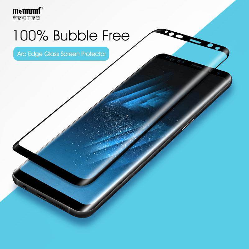 Memumi Tempered Kaca Film untuk Samsung Galaxy S8 plus Nano 9 H 3D - Aksesori dan suku cadang ponsel - Foto 2