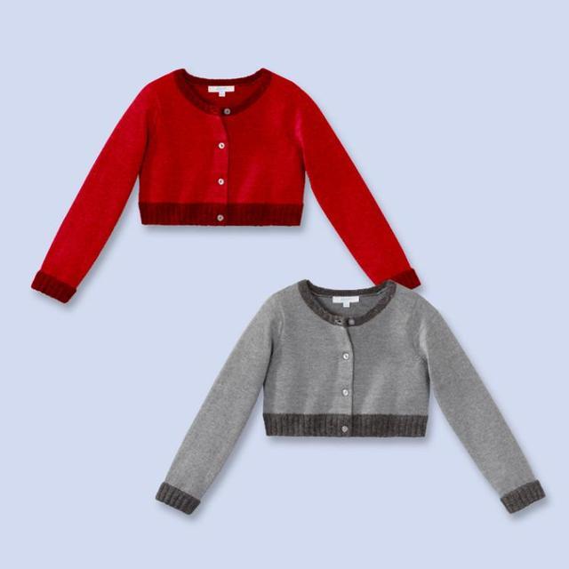 Vest Trui.2016 Jacadi Girl Sweaters Children Girl Autumn Sweater Pull Pour Enfant
