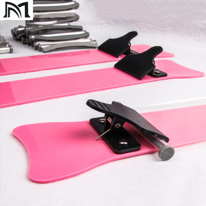 Professional Salon Coloring Plate Board 2 Sizes 35cm 45cm Hair Dyeing Paddle For Long And Short Hair Styling Tools With Gift Box