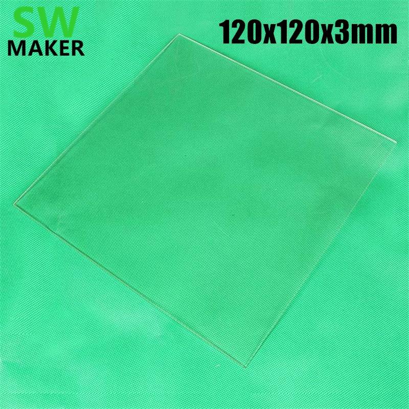 120x120x3mm 3d Drucker Borosilikatglas Platte Bauen Platte Für Up Mini 3d Drucker Xyz Drucker Da Vinci Nano