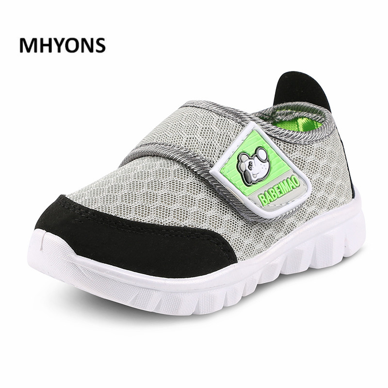 MHYONS 2017 Summer style children mesh shoes girls and boys sport shoes soft bottom kids shoes comfort breathable sneakers S1072
