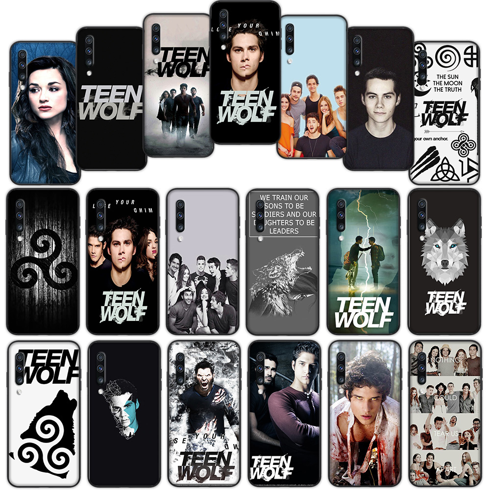 Teen Wolf Soft Cover <font><b>Case</b></font> for <font><b>Samsung</b></font> Galaxy A50 A6 Plus A7 A8 2018 A5 A9 <font><b>A10</b></font> A30 A40 A70 image