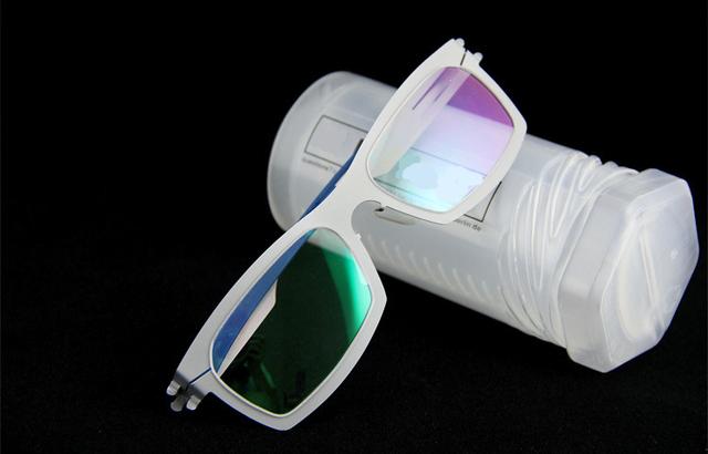 0.5 MM de aço inoxidável TRIGEMINAL removível sem solda parafuso conjunto de luz BROADSIDE quadro miopia presbiopia lente