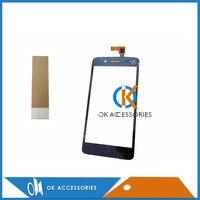1 pc/lote Para Prestigio PAP 5507 Touch Screen Digitador Cor Preta Com Fita Adesiva|prestigio pap|touch screen digitizer|screen digitizer -