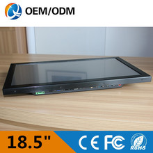 Desktop computer 18.5″ industrial panel pc touch screen Resolution 1366×768 tablet PC with celeron C1037U 1.8GHz