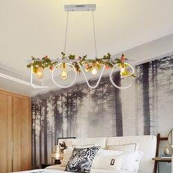 Postmodernistyczna romantycznej restauracji sypialnia żyrandol led  chiński lampion  na północ europejska osobowość bar  dekoracyjna lampa.
