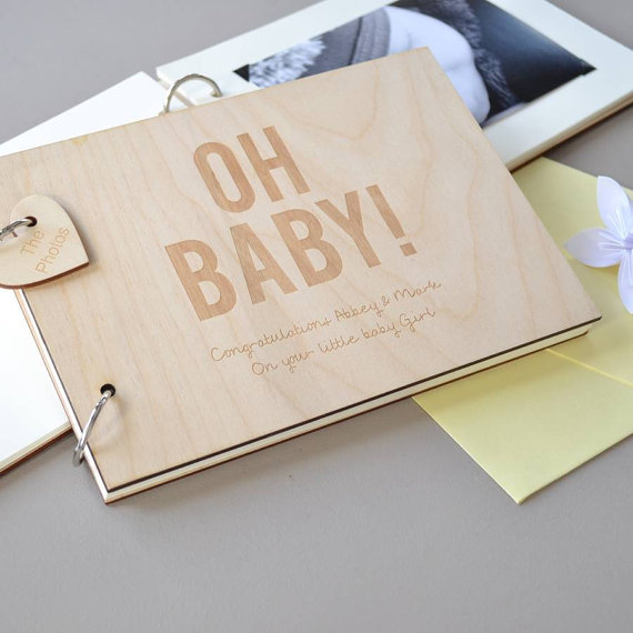 Wedding Memory Book Ideas: Custom Language Baby Shower Guest Books Baby Shower Sign