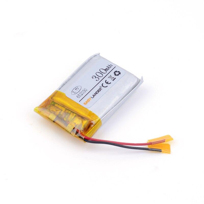 652030 3.7 В 300 мАч Перезаряжаемые литий-полимерная литий-ионная Батарея для MP3 MP4 MP5 GPS DVR Bluetooth Динамик игрушки 691929 702030