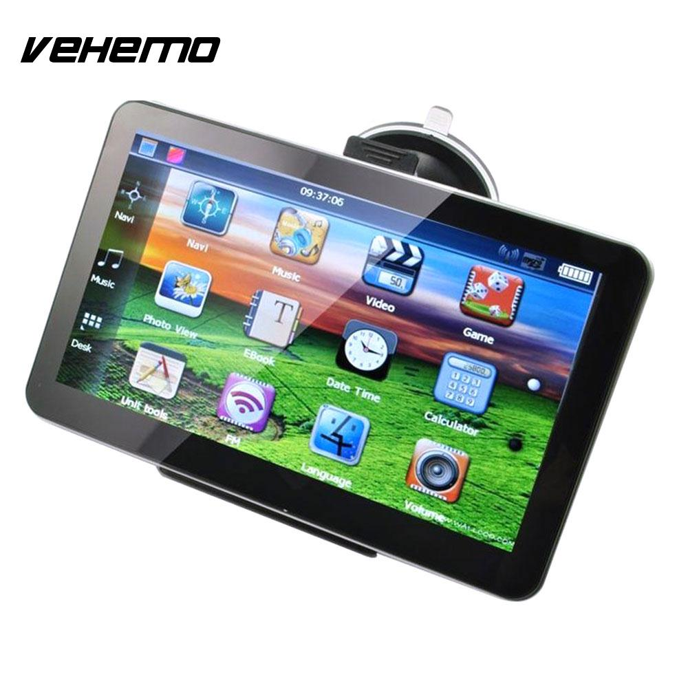 Vehemo Touch Screen with NA Map GPS Navigation GPS Navigator Game Multimedia Player FM Premium SAT NAVVehemo Touch Screen with NA Map GPS Navigation GPS Navigator Game Multimedia Player FM Premium SAT NAV