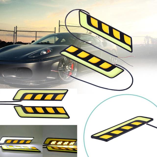 Ultrathin L Shape Running Lights High Brightness Car Front Light
