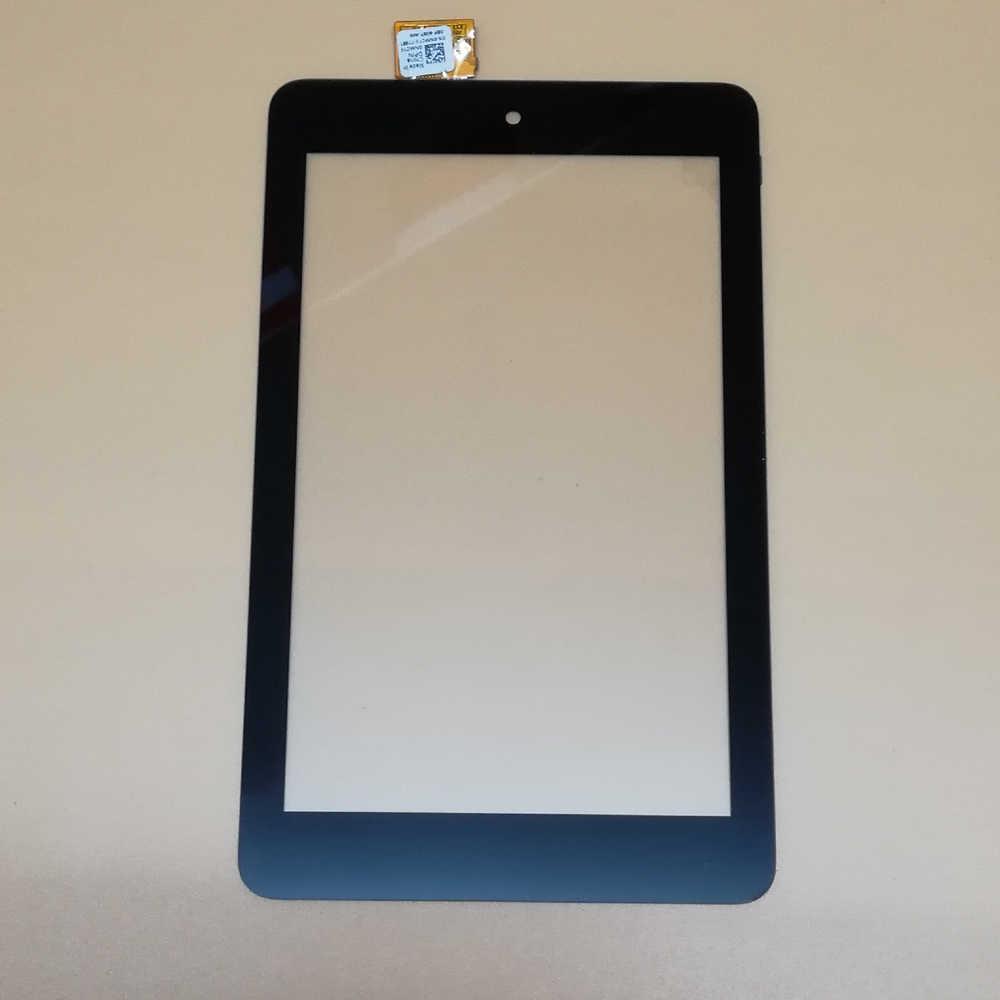 100% negro de prueba para Dell T01C Venue 7 3730 3740 pantalla táctil frontal digitalizador Panel Sensor de vidrio