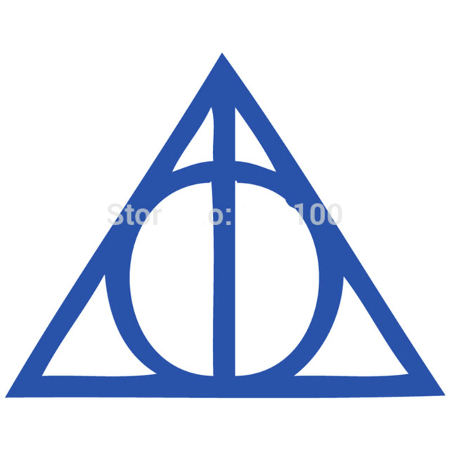 30cm Width Famous Poster Harry Potter Deathly Hallows Wall