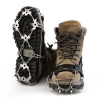OUTAD 18 שיניים מלקחי נירוסטה באיכות גבוהה TPR טיולים גרירה מלקחי שלג וקרח סוליות נעלי הליכה מגן