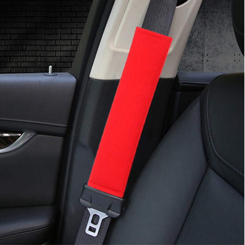 Car Safety Belt Car Seat Belt Cover Protection Shoulder Pad For BMW m3 m5 e46 e39 e36 e90 e60 f30 e30 e34 f10 <font><b>e53</b></font> f20 e87 x3 <font><b>x5</b></font> image