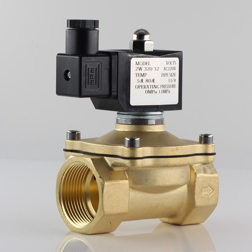 Normally closed solenoid valve water valve, IP65 fully enclosed coil, AC220V DC12V DC24V, G3/8
