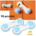 10 pcs baby safety child lock children security protection for cabinet child safety lock refrigerator window closet wardrobe