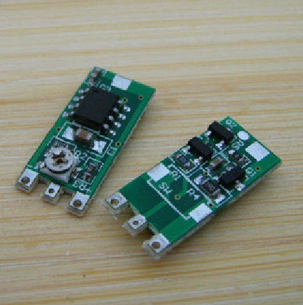 Free Ship 5pcs/lot 50-250mw red light and green light driver board 660nm precision constant current drive circuit 8.5*19mm