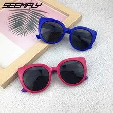 Seemfly Kids Sunglasses Boys Girls Polarized Silicone Safety Sun Glasses Gift For Children Baby UV400 Shades Oculos Gafas De Sol