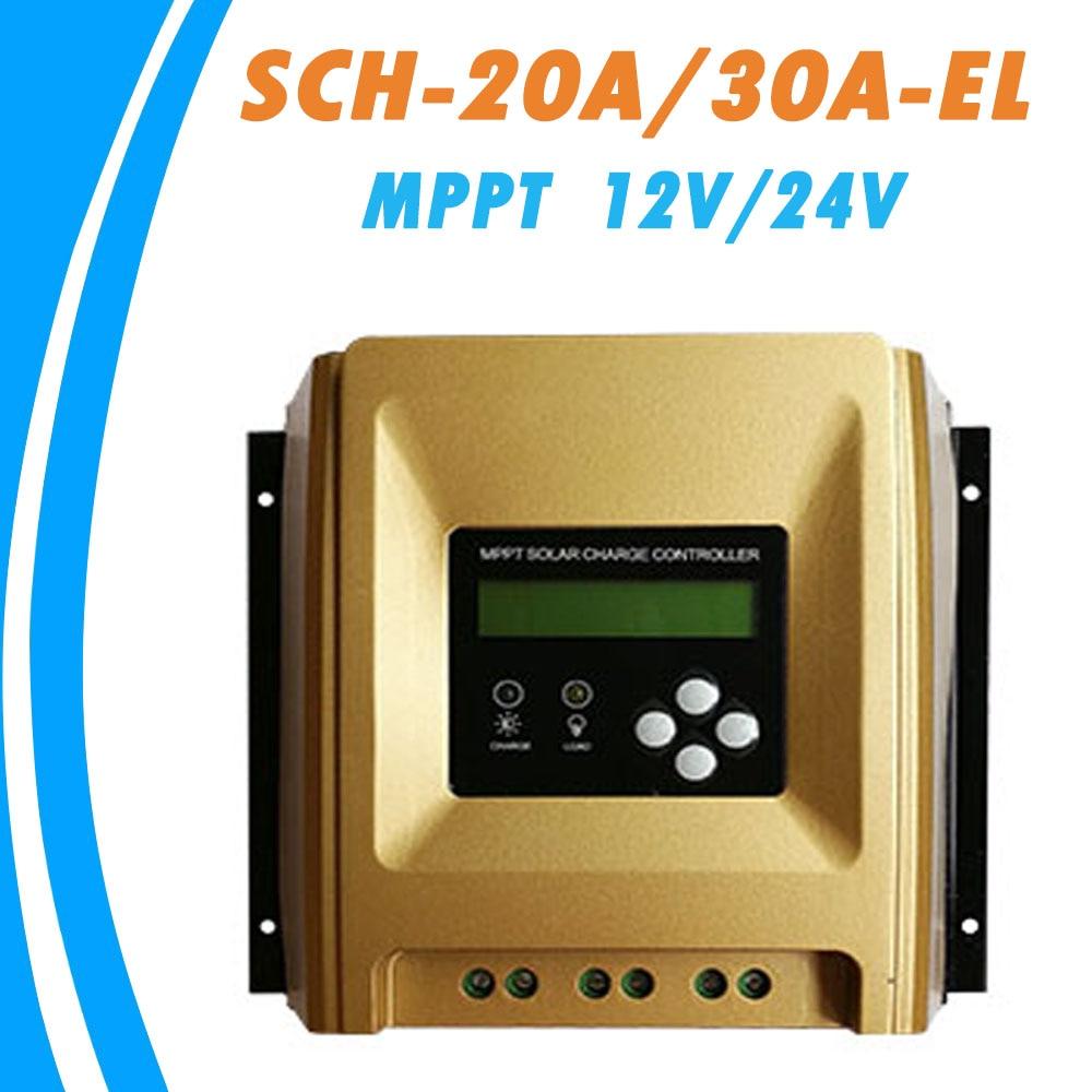 MPPT Solar Charge Controller Optional 20A 30A Solar Regulator 12V 24V Auto Work Heatsink Cooling RS485 Communication SMKSOLAR 12v 24v 36v 48v 70a mppt solar controller for max 150v lcd solar regulator with heatsink cooling rs485 communication port new