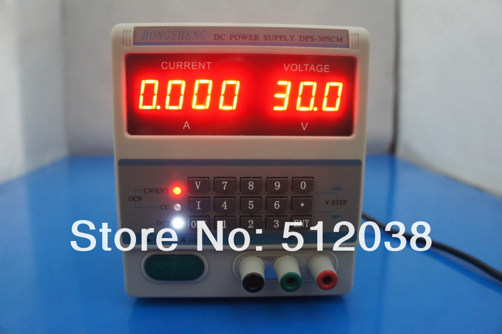 DPS-305CM Digital Control 30V 5A DC Laboratory Adjustable power supply for Laptop Repair 110V/220V