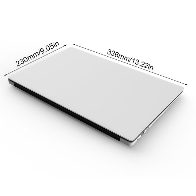 Ultra Thin 14.1 Inch Display Smart Laptop Professional Quad Core Large Memory Size Laptop Notebook for Windows 10