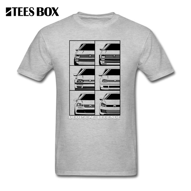 9a8d8759 Funny T Shirt Sale VW Golf Generation Car Man Relaxed Short Sleeved  Volkswagen T-Shirts O Collar Teenage Men's Navy Tees Tops
